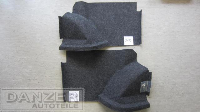 Nadelfilzauskleidung Kofferraum Limousine Blattfeder, anthrazit