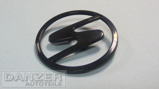 Emblem Motorhaube, plaste schwarz
