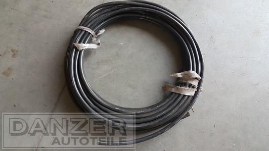 1 Meter , orig. DDR-Batterie-Kupfer-Kabel, schwarz