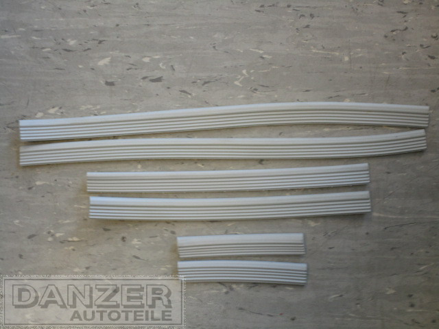 PVC-Profil Kotflügel , Satz ( 6 Stück )
