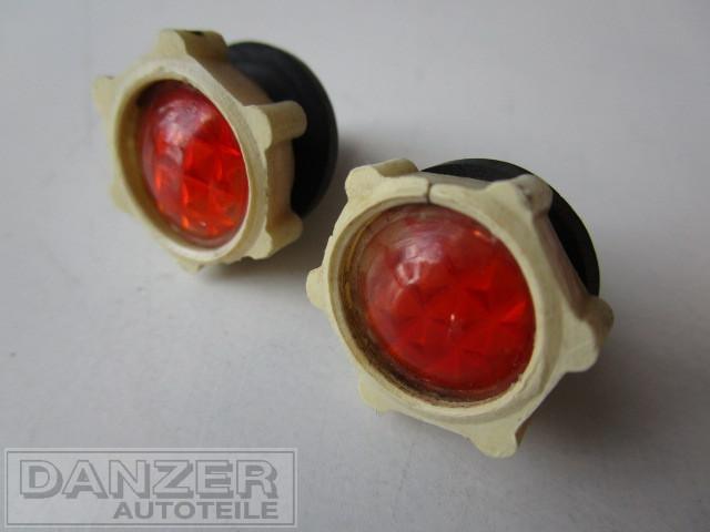 orig. Befestigungsschrauben Kennzeichenbeleuchtung, orange ( 2 Stück )