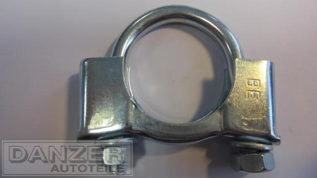 Rohrbügelschelle 38 mm
